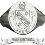 F19 Ring Family Crest Ring